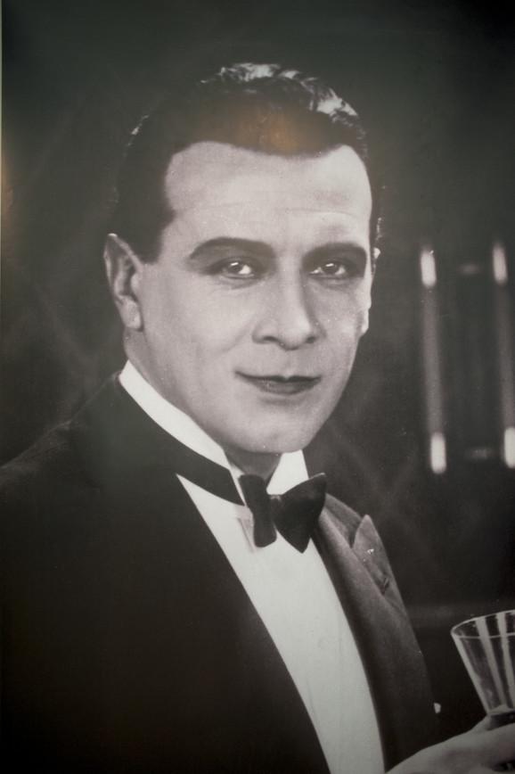 Svetislav - Ivan Petrović, sa izložbe u Kinoteci