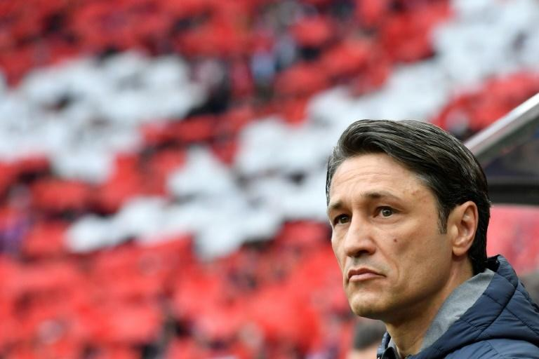 Uncertain future: Bayern coach Niko Kovac is under pressure to deliver the league and cup trophies in the next two weeks