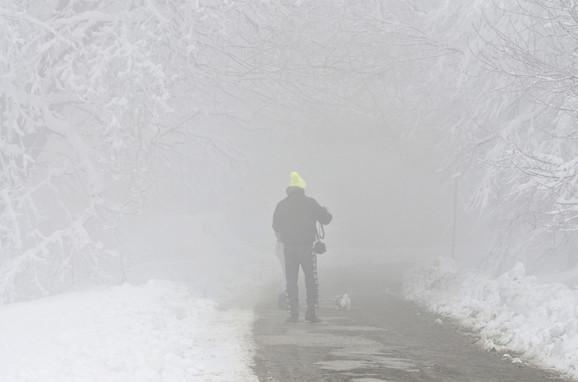 U petak će biti baš hladno