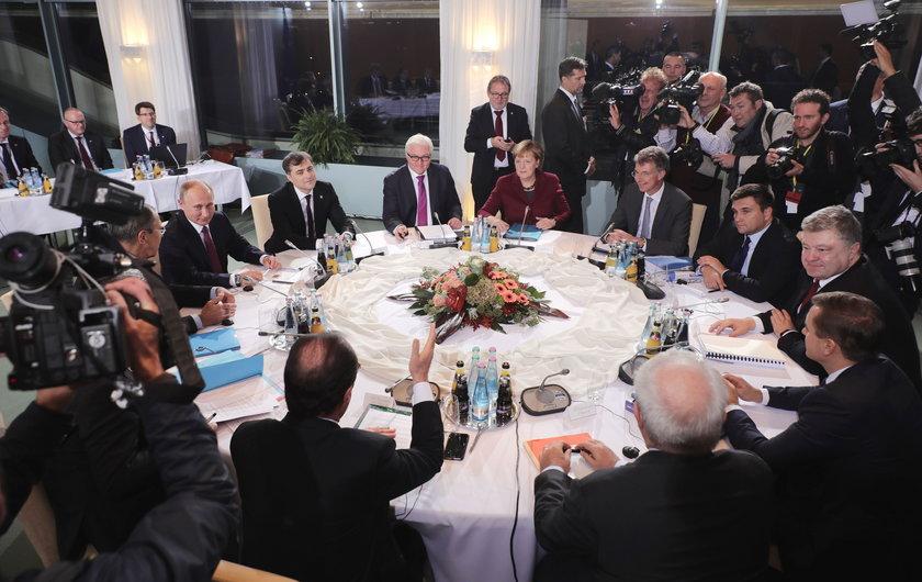 Rozmowa Merkel z Putinem