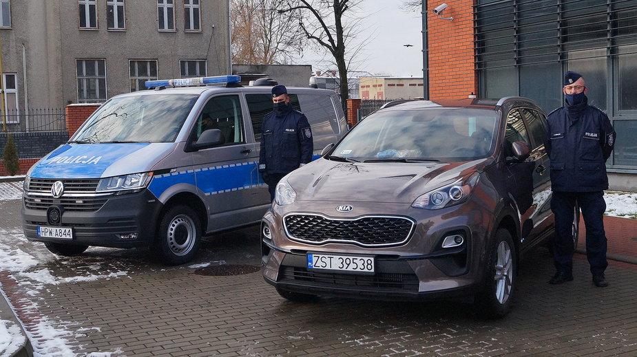 Trzy nowe radiowozy dostali stargardzcy policjanci
