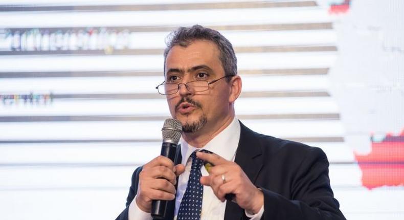 Managing Director of Société Générale Bank, Ghana, Hakim Ouzzani