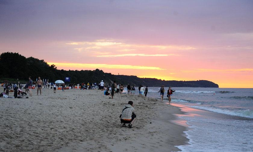 Plaża we władysławowie