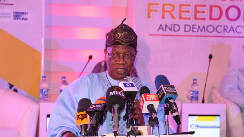 Alhaji Lai Mohammed, the Minister of Information and Culture. [Punch]