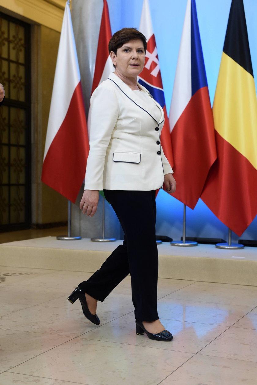 Na liście przedstawicieli rządu, którzy spotkają się z Trumpem nie ma premier Beaty Szydło