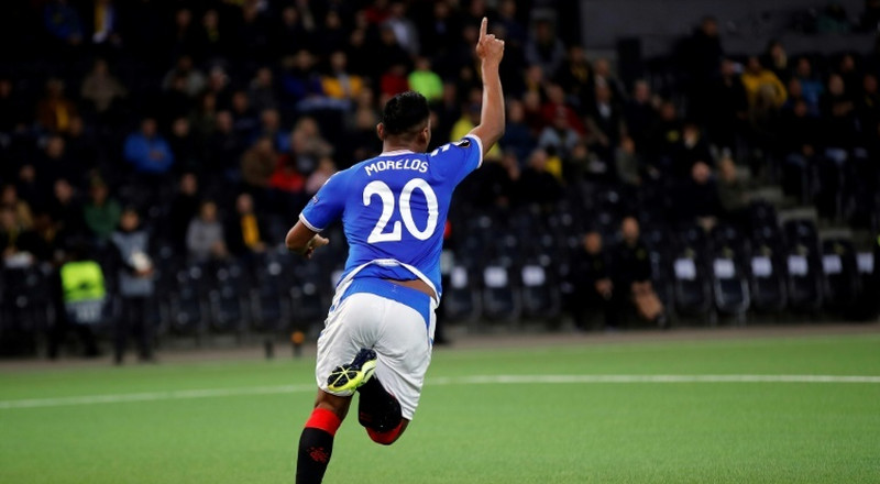 Morelos fires Rangers before latest red card