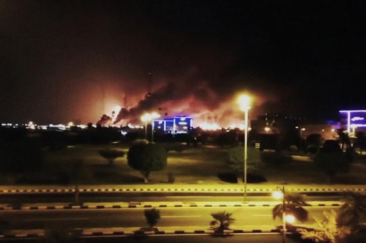 saudijska arabija napad dronom