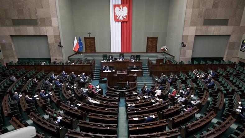 Sala obrad w Sejmie