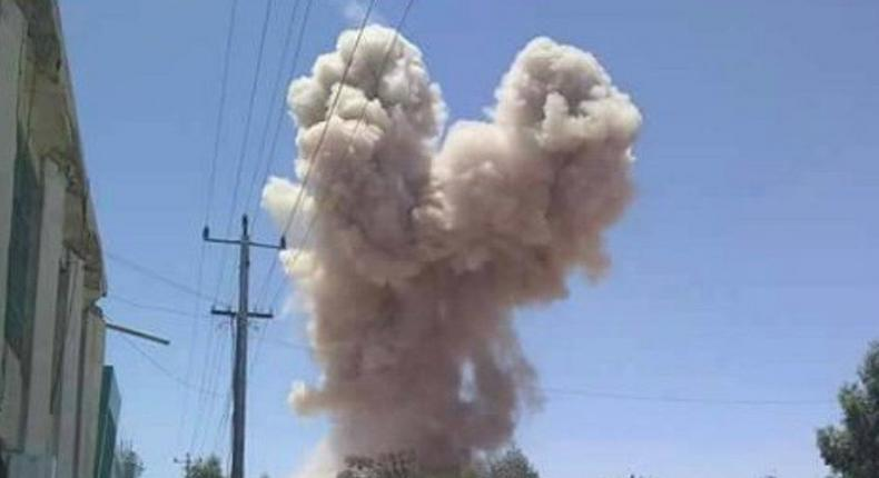 IED explosion