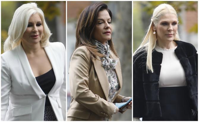 Srpske političarke stižu na sednicu Predsedništva Srpske napredne stranke