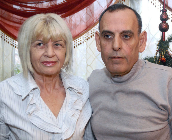 Talal Elzika sa suprugom Gordanom