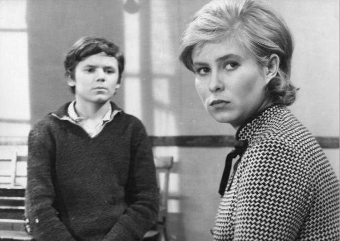 "Jacek Bławut and Joanna Szczerbic in the film ""Agnes 46"""