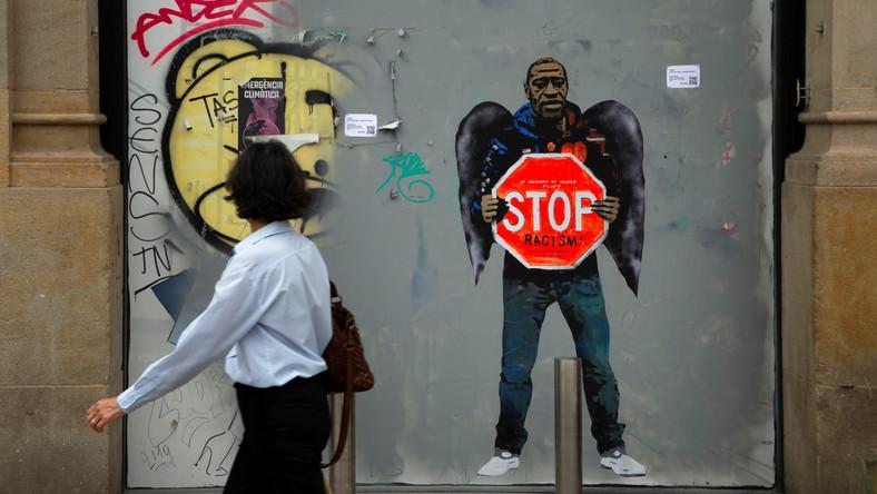 Mural ku pamięci George'a Floyda