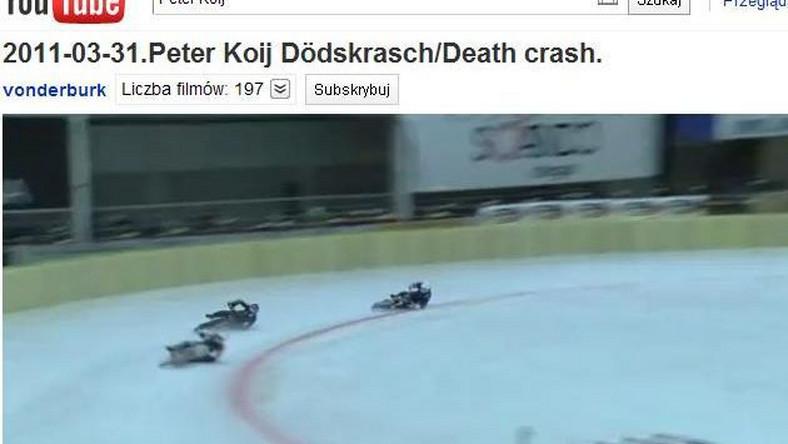 Szwed zginął na torze lodowym