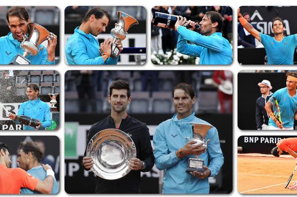 SAD JE MNOGO JASNIJE Evo zašto je Novak Đoković ONAKO STRAŠNO izgubio od Rafaela Nadala u finalu Rima