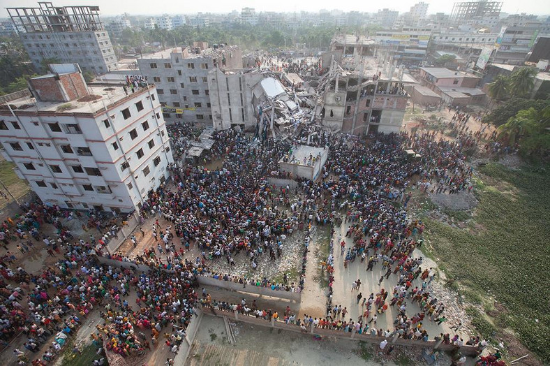 The horrific Rana Plaza collapse claimed the lives of thousands of workers in Bangladesh [Credit: Al Jazeera]