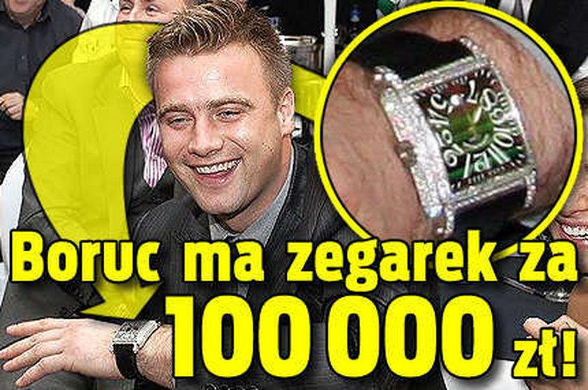 Boruc kupił zegarek za 110 tys. złotych