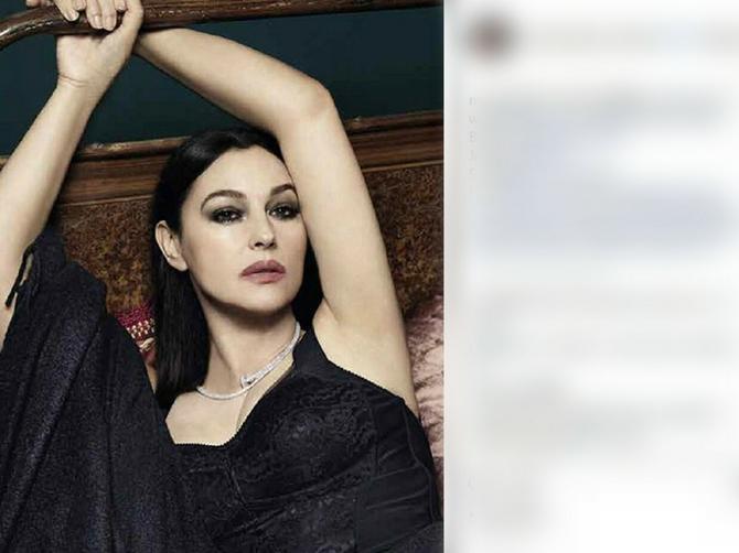 Monika Beluči (53) okačila sliku na kojoj je POTPUNO GOLA i srušila Instagram: Zbog OVOGA su muškaci danas na slatkim mukama