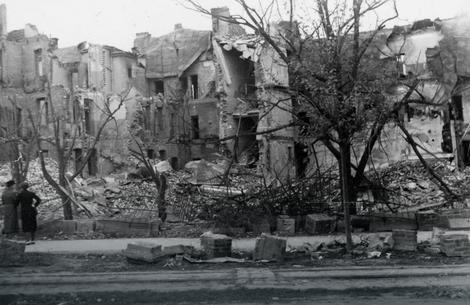 Beograd 1941. nakon bombardovanja