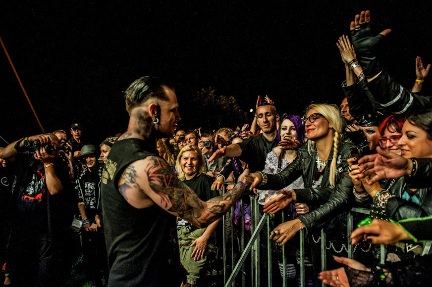 Combichrist na Castle Party 2012 (fot. Monika Stolarska / Onet)