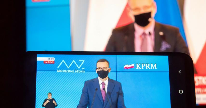 Konferencja premiera i ministra zdrowia o odmrażaniu gospodarki. Godzina, co powiedzą?