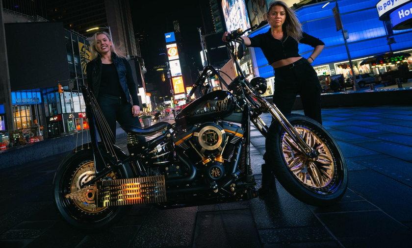 Niezwykły motocykl powstał w Rzeszowie, teraz można podziwiać go w Nowym Jorku