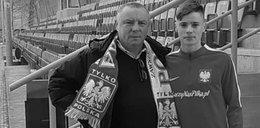 We wrześniu ojciec płakał z radości i dumy po debiucie syna w reprezentacji Polski. Dziś syn opłakuje tatę