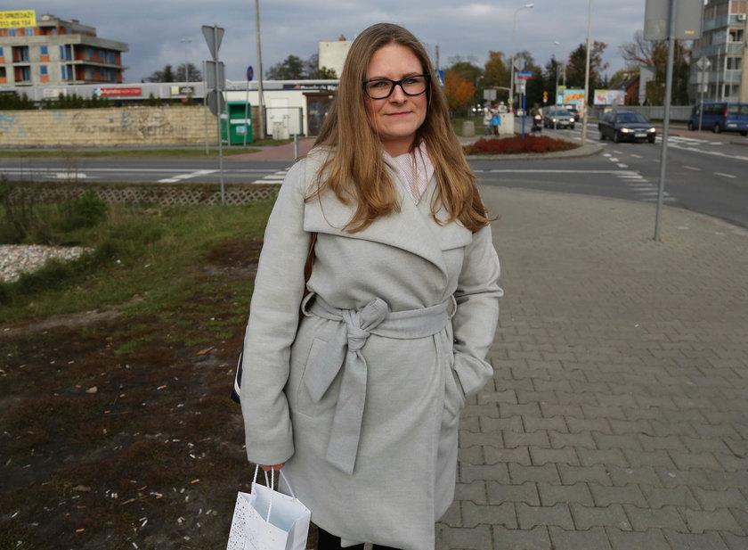 Katarzyna Madej (32 l.), mieszkanka Białołęki