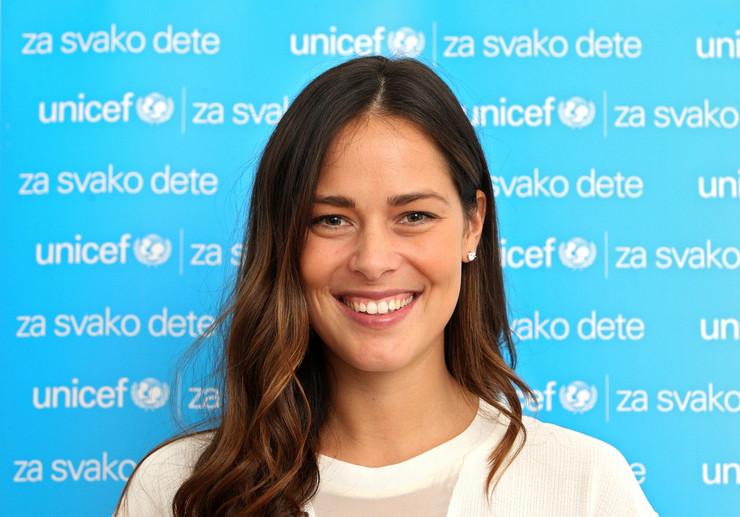 Ana Ivanovic UNICEF