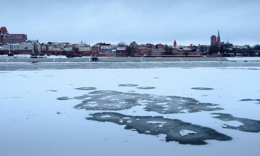 Zima w Toruniu