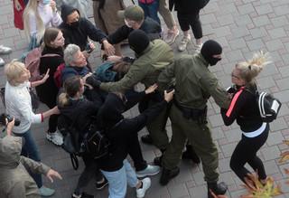 Białoruś: Po zatrzymaniu Kalesnikawej grożono przemocą