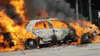 W Berlinie płoną samochody – w zeszłym roku spalono aż 711 aut