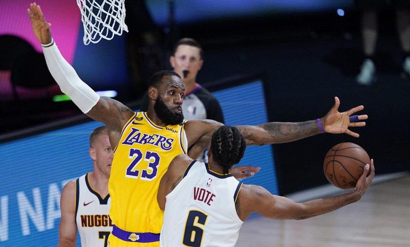 Los Angeles Lakers w finale NBA