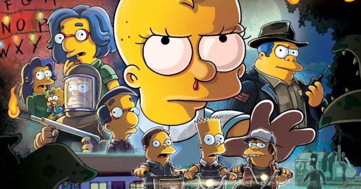 """""""Die Simpsons"""" verarschen """"Stranger Things"""" in legendärer Halloween-Folge"""