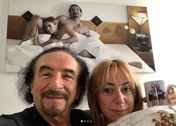 Željko Bebek i supruga