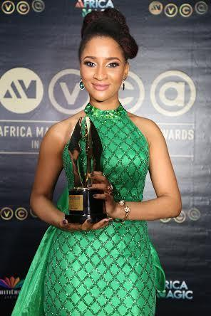 Best actress at AMVCA 2016 - Adesua Etomi