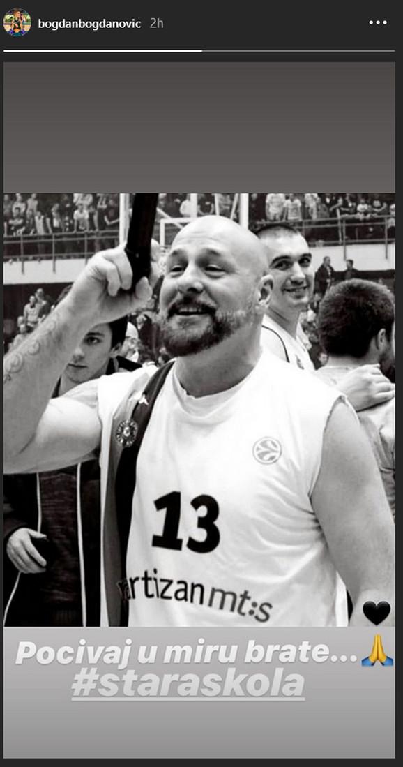 Objava Bogdana Bogdanovića