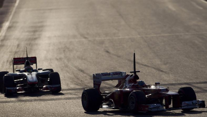 Testy Formuły 1