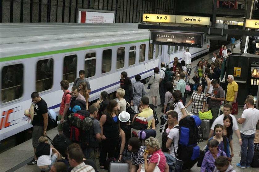 Jedź tanim pociągiem na wakacje
