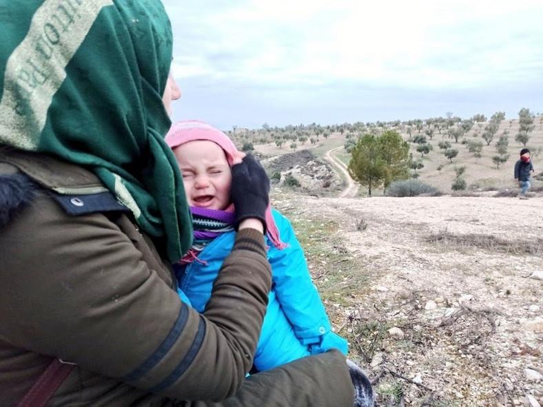 Rodzina wylądowała w Warszawie 1 września i dostała azyl w Polsce