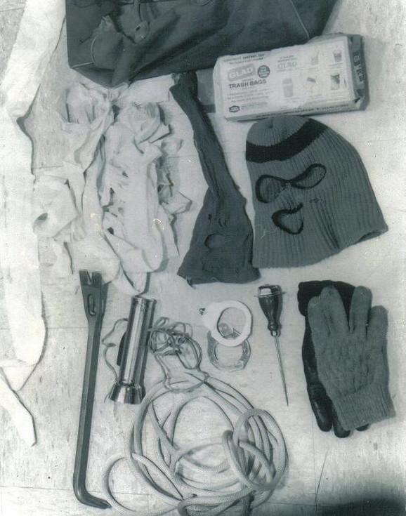 Stvari pronađene u Bandijevom automobilu, 1975. godine