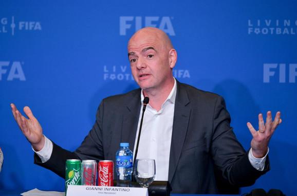 Đani Infantino, predsednik FIFA