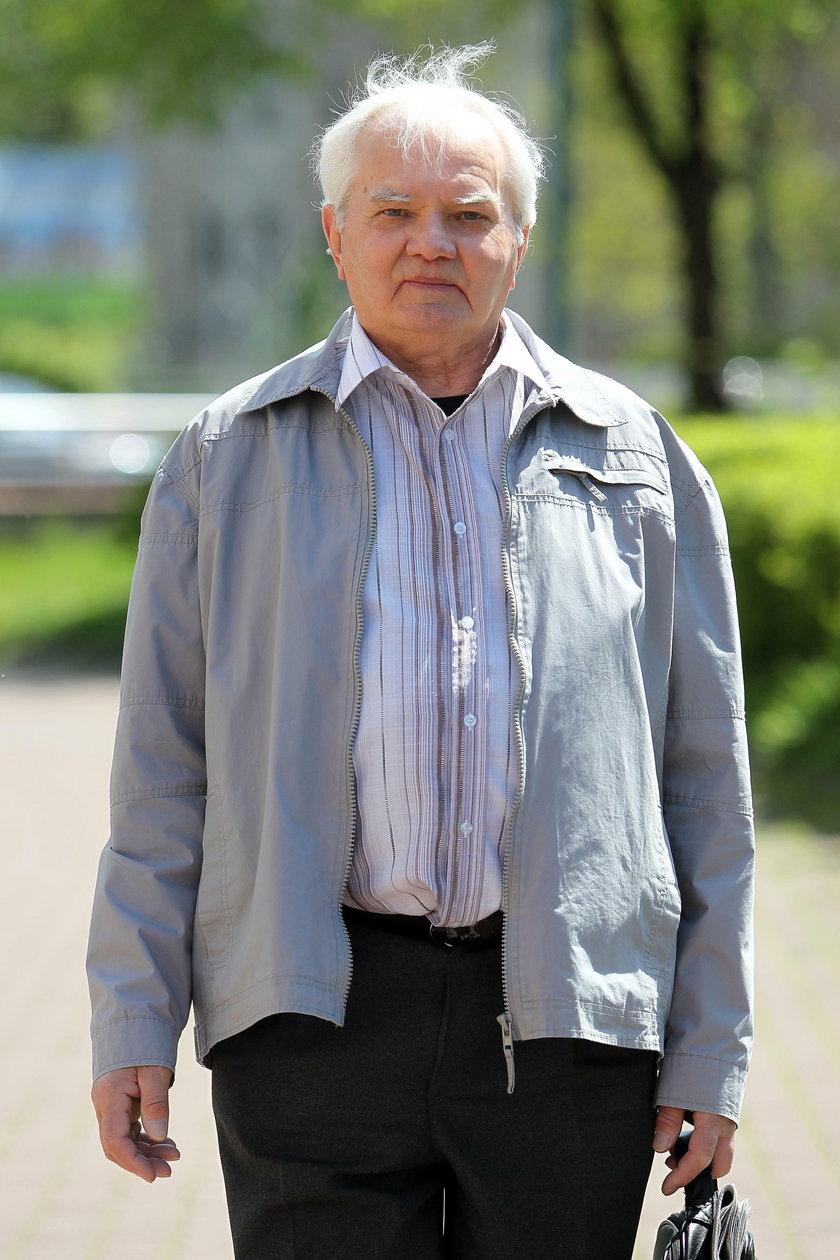 Mieszkaniec Sosnowca Andrzej Warzecha (74 l.)