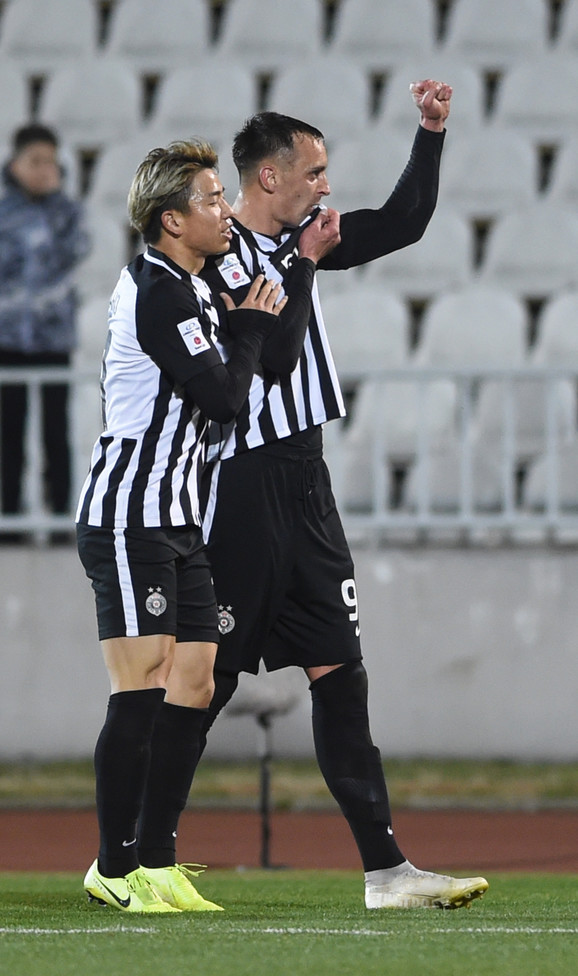FK Partizan, FK Proleter