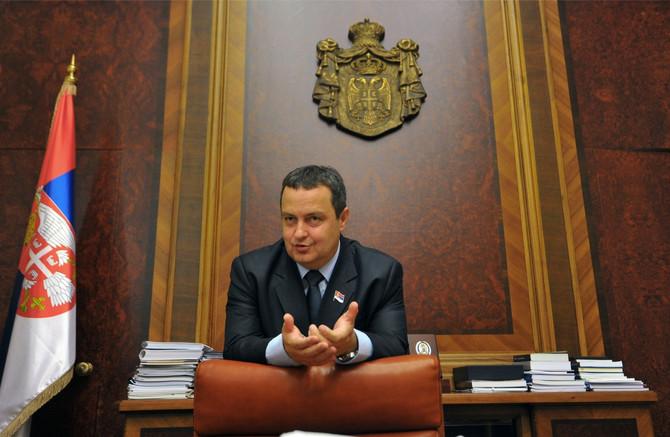 Ministar spoljinih poslova Republike Srbije Ivica Dačić