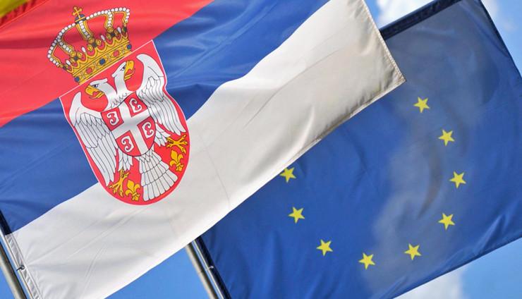 zastave srbija evropska unija06 foto D. Milenkovic