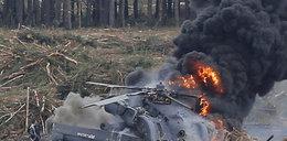 Katastrofa na pokazie. Nagle pilot wychodzi z płomieni. FILM