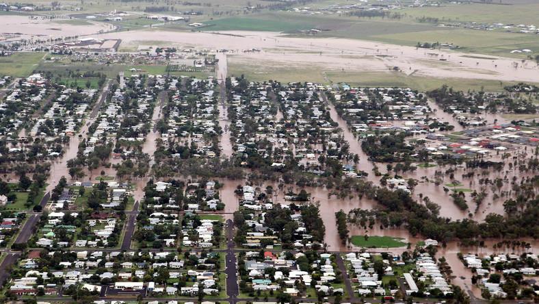 Australia pod wodą. Zalany jest obszar wielkości Francji i Niemiec łącznie