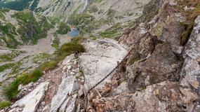Szlak między Świnicą a przełęczą Zawrat został zamknięty