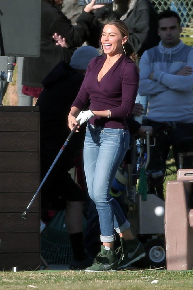 Sofija obožava golf